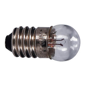 Birnderl Kleinlampe E10 3W 6V