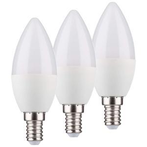 Müller Licht 3er Set LED Kerze E14 5,5W warmweiß
