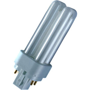 Osram Kompaktleuchtstofflampe DULUX D/E 13W 840 G24Q-1