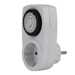 Unitec Mechanische Zeitschaltuhr weiß mini für innen