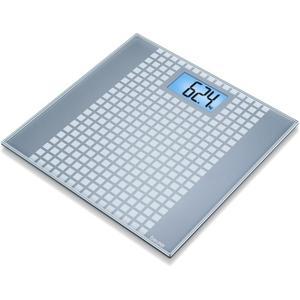 Beurer PERSONENWAAGE GLAS 150KG/100G GS 206 SQUARES