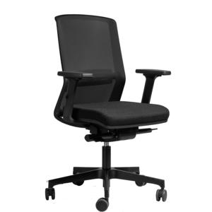 Bürodrehstuhl ORLANDO für Büro und Home-Office, schwarz