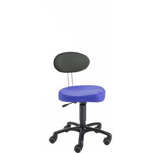 Kinderstuhl LeitnerTwist KIGA K, blauer Sattelsitz