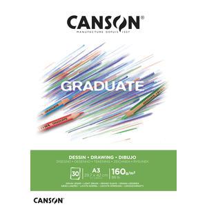 Canson Graduate Zeichnen Block A3
