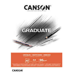 Canson Graduate Skizzen Block A4