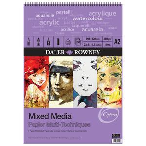 Mixed Media Spiralblock A2