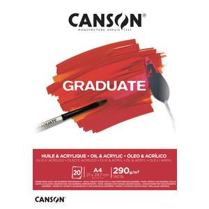 Canson Graduate Acryl & Öl Block A4