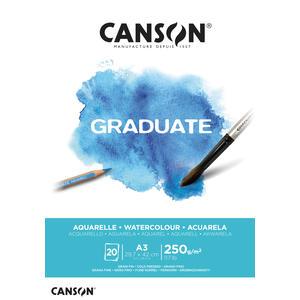 Canson Graduate Aquarell Block A3