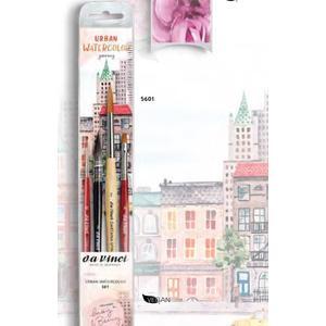 Aquarell Pinselset - Urban Watercolor Journey Set