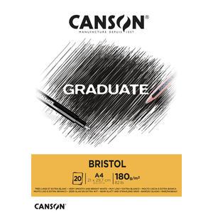 Canson Graduate Bristol Block A4