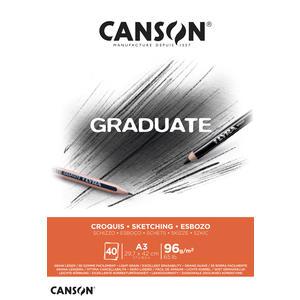 Canson Graduate Skizzen Block A3