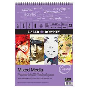 Mixed Media Spiralblock A3