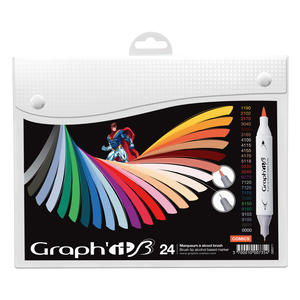 Graph'it Brush Marker Sets 24-er essential