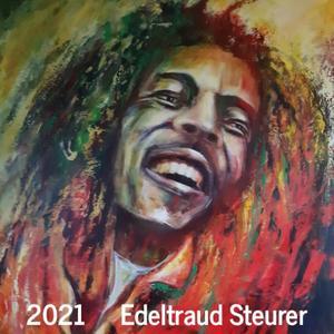 Kunstkalender - Edeltraud Steurer 2021 - 13 Arbeiten in Acryl