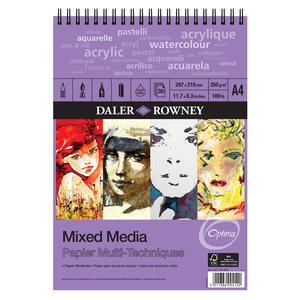 Mixed Media Spiralblock A4