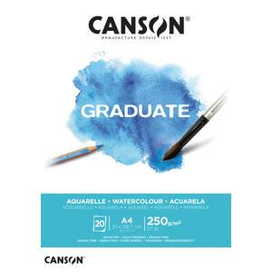Canson Graduate Aquarell Block A4