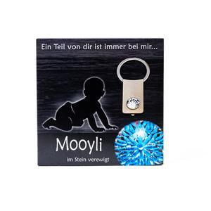 Mooyli Baby - Durch Befüllen des Steines zum persönlichsten Schmuckstück
