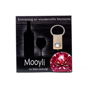 Mooyli Wein - Durch Befüllen des Steines zum persönlichsten Schmuckstück