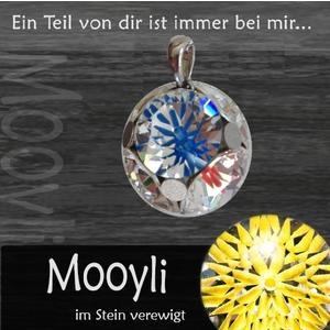Mooyli Familienkugel - Durch Befüllen der Steine zum persönlichsten Schmuckstück