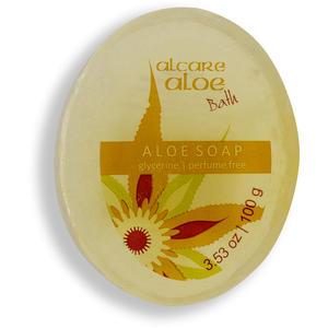 Aloe - parfumfreie Seife (Glycerine), 100 g