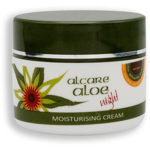 Aloe Vera - Aloe - Moisturising Night Cream, 50 ml - Nachtcréme
