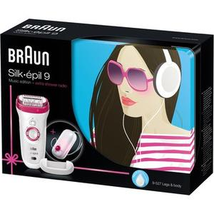 Braun Silk épil 9 inkl. Duschradio