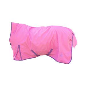 indira Pferdedecke - Regendecke pro Ripstop 1200d Wasserdicht high-Neck (pink, 155 cm)
