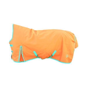 indira Pferdedecke - Regendecke pro Ripstop 1200d Wasserdicht high-Neck (orange, 145 cm)