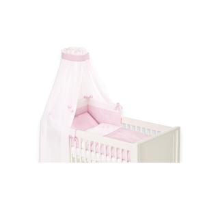 Bettset Krone rosa für Babybett