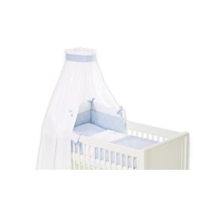 Bettset Krone blau für Babybett