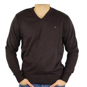 Tommy Hilfiger Sweater V-Neck braun