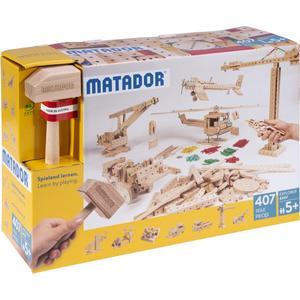 Matador Explorer E407 Holz Konstruktionsbaukasten