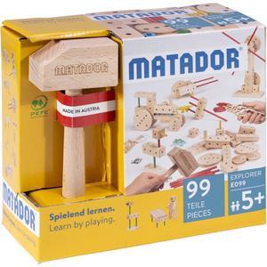 Matador Explorer E099 Holz Konstruktionsbaukasten