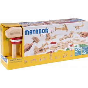 Matador Explorer E222 Holz Konstruktionsbaukasten