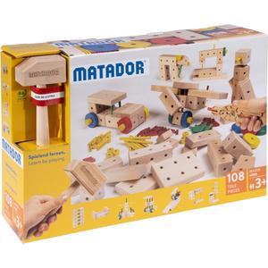 Matador Maker M108 Holz Konstruktionsbaukasten