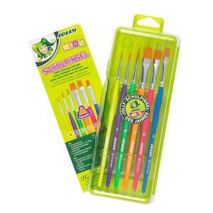 Jolly Dreikantpinselset Neon 6er Set