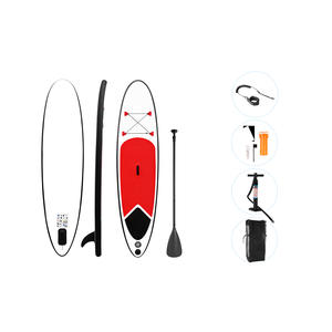 Stand Up Paddle Board, SUP, 305 x 71 cm, aufblasbar, rot