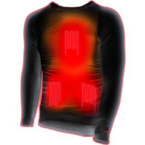 Thermo Underwear - Shirt - beheizbares Unterziehshirt - Größe M-L (EU Damen 42-44, EU Herren 48-52 )