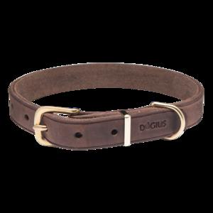 Hermes Halsband Dunkelbraun