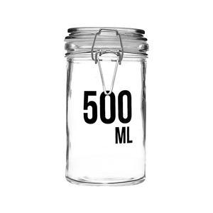 Vorratsglas mit Bügelverschluss 500 ml