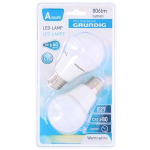 Grundig Led Glühlampe E27 - Glühlampe Daylight 2 Stück