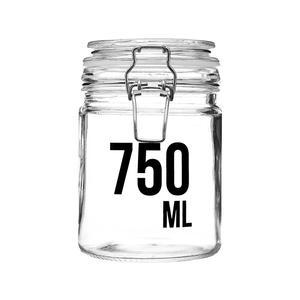 Vorratsglas mit Bügelverschluss 750 ml