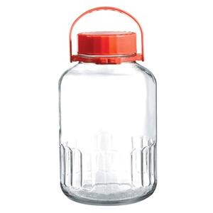 Einmachglas, Höhe 32,4 cm, Inhalt 8 Liter