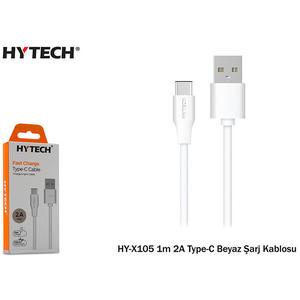 HY-X105 1 m 2A weißes Ladekabel Typ C