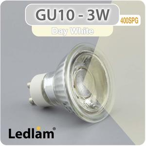 LED Spot GU10 230V 3W SMD 400SPG - neutralweiß 4100k