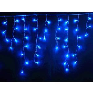 144 x LED Lichterkette Lichtervorhang 220x75cm Icicle blau mit Effektcontroller, untereinander koppelbar