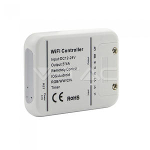 WIFI Controller 5-Kanal RGB/W/WW für LED-Stripes 12V/24V kompatibel mit Amazon Alexa und Google Home