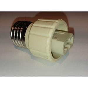 Lampensockel Adapter E27 auf G9, Keramik