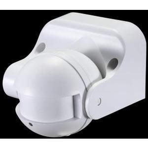 Mikrowellen / Radar Bewegungssensor / Schalter LX-752, 230V/1.200W, weiß, LED geeignet