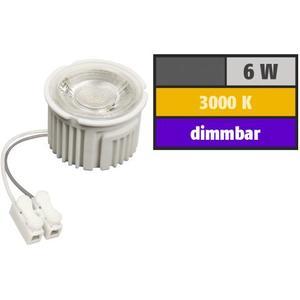 LED Spot Modul GU10 Leuchtmittel-Ersatz 6W 400lm COB 3000k warmweiß dimmbar